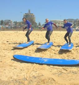 bondi surf tarining